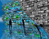 Große Wand Lizenzfreies Stockfoto