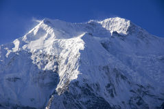 Große weiße Berge Lizenzfreies Stockbild