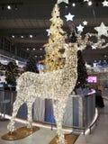 Große Weihnachtsdekorationen stockbild