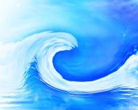 Große Welle vektor abbildung