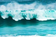 Große Welle vom Indischen Ozean lizenzfreies stockbild