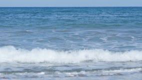 Große Wellen auf der Küste stock footage
