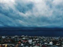 Große Wolken Lizenzfreie Stockfotografie