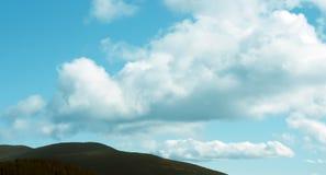 Große Wolken Stockfoto