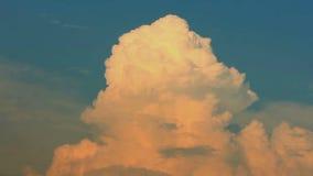 Große Wolken stock video footage