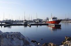Große Yacht Lizenzfreie Stockfotos