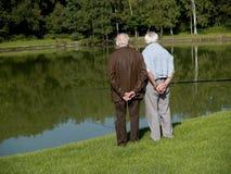 Großeltern, Ältere. Stockfotos