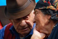 Großeltern stockbild