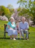 Großeltern Stockfotos