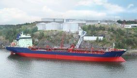 Großer Öltanker Stockfotografie