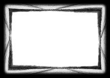 Großer abstrakter Lack grunge Rand Lizenzfreies Stockfoto