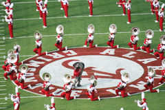 Großer Al And The University von Alabama Million Dollar-Band Stockfoto