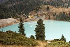 Großer Almaty See stockfoto