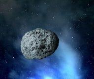 großer Asteroid stock abbildung