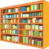 Großer Bücherschrank Stockfoto