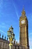 Großer Ben Tower Houses Parliament Westminster London England Lizenzfreie Stockfotos