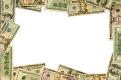 Großer Bezeichnung-Bargeld-Rand Stockfotografie