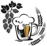 Großer Bierkrug Stockbilder