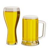 Großer Bierkrug Stockbild