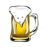 Großer Bierkrug Stockfotos