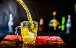 Großer Bierkrug Lizenzfreies Stockfoto