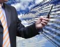 Großer binärer Code Lizenzfreies Stockfoto
