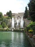 Großer Brunnen Stockbild
