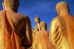 Großer Buddha in Buddhismus-Memorial Park-Öffentlichkeit Templel Lizenzfreie Stockfotografie