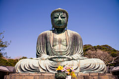Großer Buddha (Daibutsu) lizenzfreie stockfotos