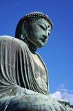 Großer Buddha (Daibutsu) von Kamakura, Japan Lizenzfreies Stockfoto