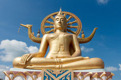 Großer Buddha in Samui Lizenzfreie Stockfotos