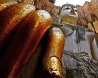 Großer Buddha in Sukhothai Thailand Lizenzfreie Stockfotografie
