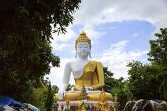 Großer Buddha am Tempel Lizenzfreie Stockbilder