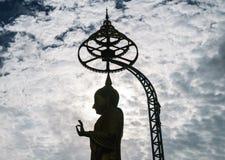 Großer Buddha und Überwendlingsnaht lizenzfreie stockfotos