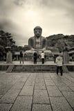 Großer Buddha von Kamakura Daibutsu Stockfoto