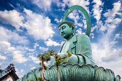 Großer Buddha von Takaoka lizenzfreie stockbilder