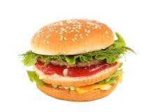 Großer Burger Stockbilder