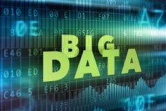 Großer Daten-Hintergrund Lizenzfreie Stockfotos