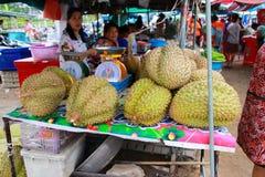 Großer Durian Stockfotos
