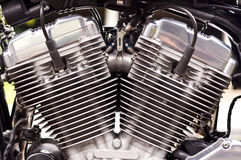 Großer Fahrradmotor. Lizenzfreies Stockbild