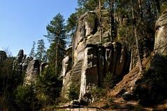 Großer Felsen Stockfotos
