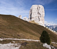 Großer Felsenkontrollturm Lizenzfreie Stockfotos