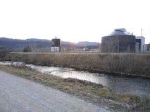 Großer Fluss Hubelj lizenzfreies stockbild