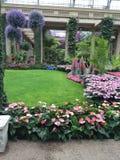 großer Garten Stockfoto