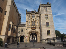 Großer Gatehouse (Abbey Gatehouse) in Bristol Lizenzfreies Stockfoto