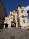 Großer Gatehouse u. x28; Abbey Gatehouse u. x29; in Bristol Lizenzfreies Stockbild