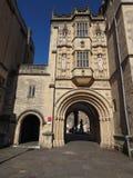 Großer Gatehouse u. x28; Abbey Gatehouse u. x29; in Bristol Lizenzfreie Stockfotos