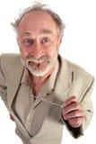 Großer gemusterter Professor Stockbilder