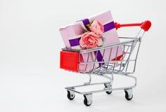 Großer Geschenkkasten Lizenzfreie Stockfotos