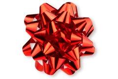 Großer glatter roter Bogen Lizenzfreie Stockfotos